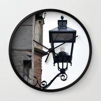 lantern Wall Clocks featuring Lantern by Marieken