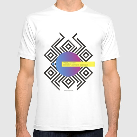 Impossible Symmetry - Circle T-shirt