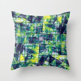Citrus Brick Throw Pillow