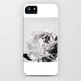 Peony Beauty Awakens the Soul Dante iPhone Case