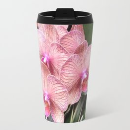 Pink Orchids Travel Mug