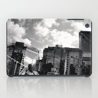 buildings iPad Cases featuring Buildings  by Mich Li