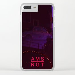 Amsterdam at Night No.1 Clear iPhone Case