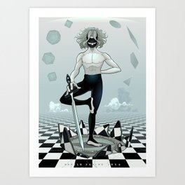 Don't believe in the World Art Print