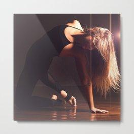 Dancer Metal Print