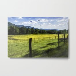 Cades Cove - Great Smoky Mountains National Park Metal Print