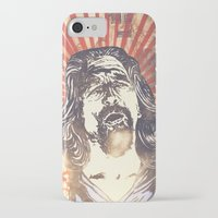 big lebowski iPhone & iPod Cases featuring Big Lebowski by Tommy Lennartsson