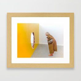 arte contemporanea Framed Art Print