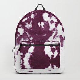 Velvet Kumo Shibori Plum Backpack