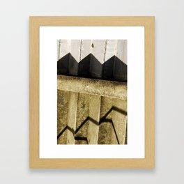 Shadow in Hackney1 Framed Art Print