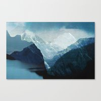 tchmo Canvas Prints featuring Untitled 20140114o by tchmo