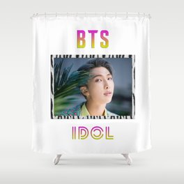 BTS Song IDOL Design - RM Shower Curtain
