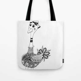 Ozzy the Ostracized Ostrich Tote Bag
