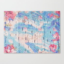 Utopia Flora Canvas Print