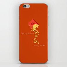 Not lovin' your monkey breath iPhone & iPod Skin