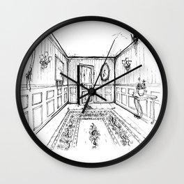 Manoir Wall Clock