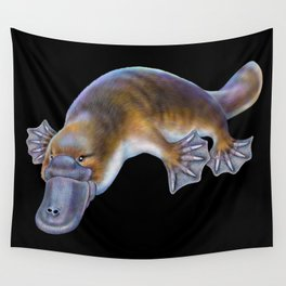 Platypus Wall Tapestry