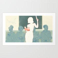 Metro. Art Print