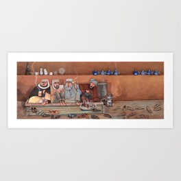 Chai Khana Art Print