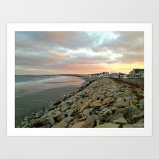 The Beach 1 Art Print