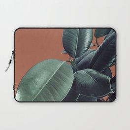 Ficus Elastica #17 #AutumnLeaf #foliage #decor #art #society6 Laptop Sleeve