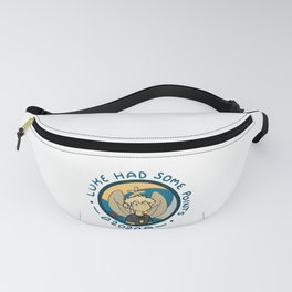 Luke Had Some Points 2020 Blue Text Fanny Pack