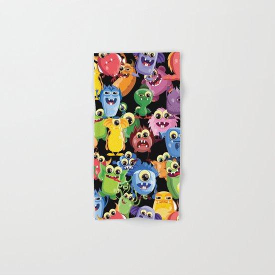 cute monsters Hand & Bath Towel