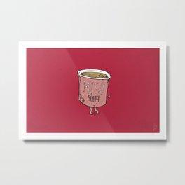 Miso Soupy Metal Print