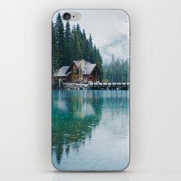 Emerald Lake Lodge iPhone Skin