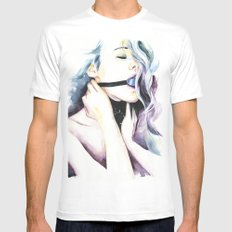 Refined pleasures LARGE Mens Fitted Tee White