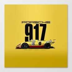 Lennep Piper 1970 Le Mans - 917K Chassis 917-021 Canvas Print