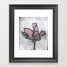 Chromatic Orchid Framed Art Print