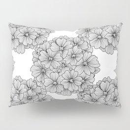 Black Verbena Pillow Sham