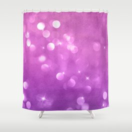Purple-Pink Bubble Gum Candies Shower Curtain