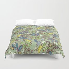 go green in spring Duvet Cover