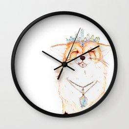 Juniper Fox Wall Clock