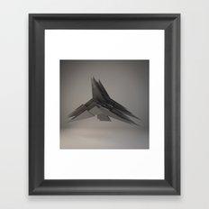 The Girl's Got Angel Wings Framed Art Print
