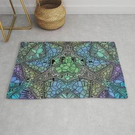 colossal glass mosaic Rug