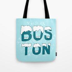 SNOWY BOSTON Tote Bag