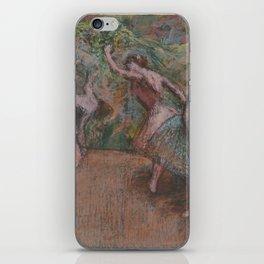 Edgar Degas - Ballet Scene iPhone Skin