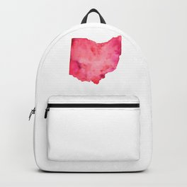 Red Ohio Backpack