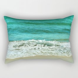 new wave Rectangular Pillow