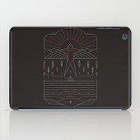 u2 iPad Cases featuring The Navigator by Rick Crane