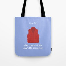 Back to the Future - Life Preserver Tote Bag