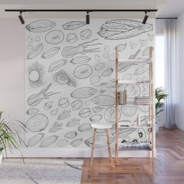 Exploration of the Seed Vault Wall Mural