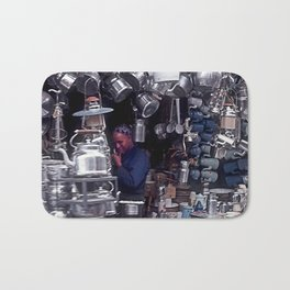 Moroccan Market Place: Cookware Booth Bath Mat