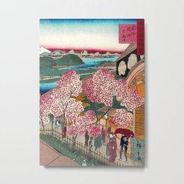 Gankiro Tea House Metal Print