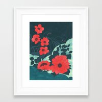 ruby Framed Art Prints featuring Ruby by Tracie Andrews
