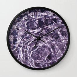 Violaceous Soul Wall Clock