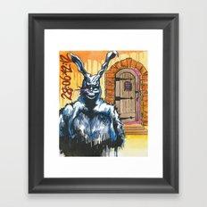 Frank and the Cellar Door Framed Art Print